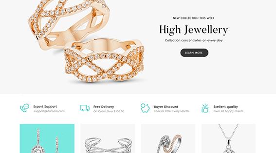 Jewelry Elementor WordPress Theme