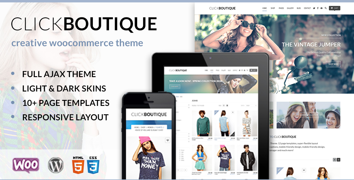ClickBoutique Fashion Shop WooCommerce Theme • Themes Zone