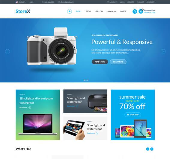 StoreX Electronics WooCommerce Theme