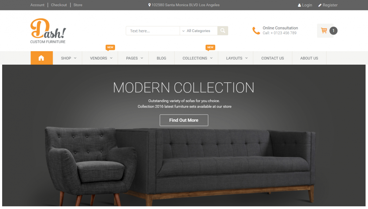 5 Best Furniture WordPress Themes