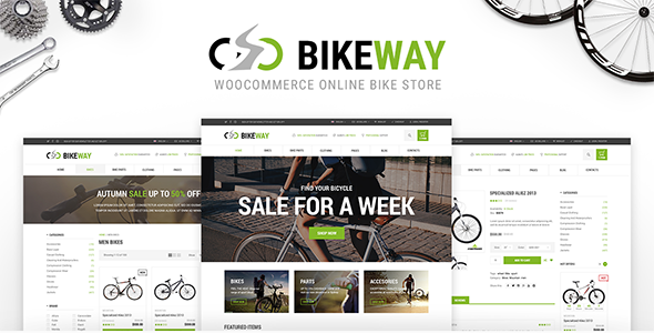 Bikeway - WordPress WooCommerce Sport Shop Theme