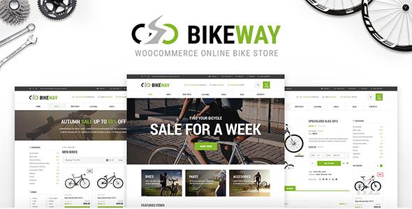 Bikeway - WordPress WooCommerce Sport Shop Theme