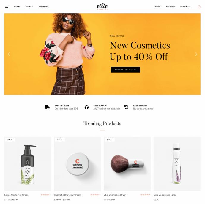 Ellie Free Multipurpose WordPress Theme