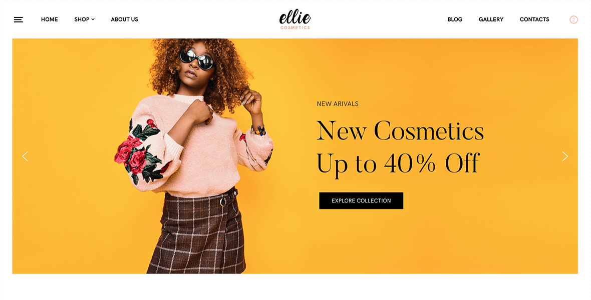 <b>Free</b> WooCommerce Fashion Theme Style-Shop