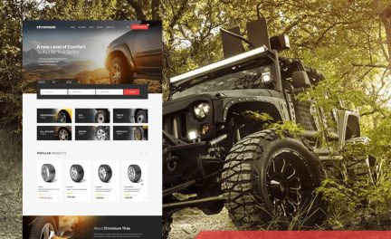 Tire Shop WordPress Theme